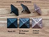 Pyramid Clavos, 1 1/8 Inch X 1 1/8 Inch