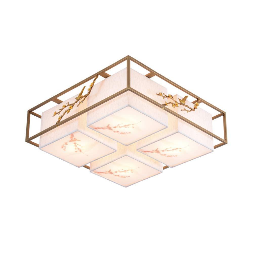 ZENWEN Decke Lampe Led Antik Square Eisen-i Lampe Hotel Zimmer Schlafzimmer 570  570  200