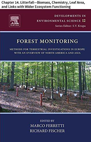 - Forest Monitoring: Chapter 14. Litterfall-Biomass, Chemistry, Leaf Area, and Links with Wider Ecosystem Functioning (Developments in Environmental Science Book 12)