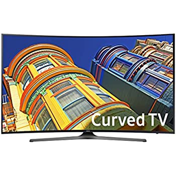 Samsung UN55KU6500 Curved 55-Inch 4K Ultra HD Smart LED TV (2016 Model)