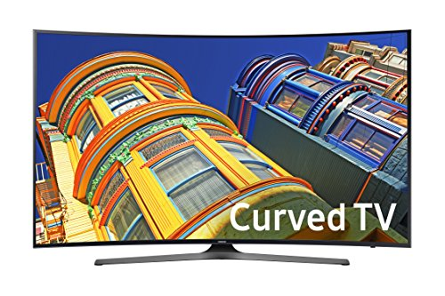 Samsung UN55KU6500 Curved 55-Inch 4K Ultra HD Smart LED TV (2016 Model) (Samsung 65 Inch Curved 3d Tv)