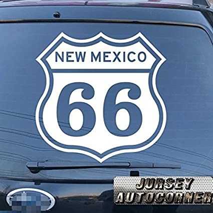 Route 66 us new mexico decal sticker car vinyl pick size color die cut no background