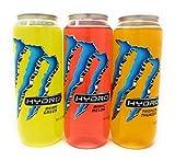 Image of Monster Hydro , 3 Flavor Sampler, 16.9fl.oz. (Pack of 6)