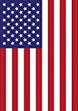 "American Garden Flag Stars Stripes Double Sided 12.5"" x 18"""