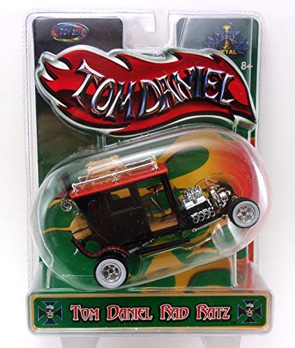 Tom Daniel's RAD RATZ 1:43 Diecast Old Skool Rat Rod - Tijuana Taxi]()