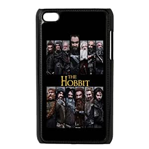 STYLE-UM@ Plastic ipod touch 4 Snap On Case with The Hobbit Design (Black or White)