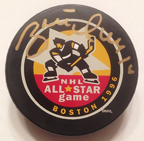 - Brett Hull St. Louis Blues Autographed / Signed 1996 All-Star Game Hockey Puck COA