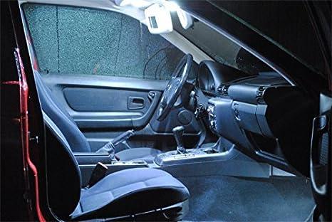 Pro!carpentis led lilluminazione per interni auto set di 3 lampade