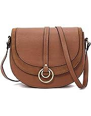 Forestfish Women Crossbody Bag Shoulder Bag Saddle Bag Purse Handbag for Gift