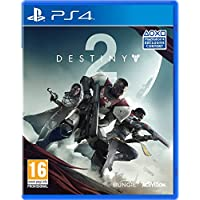 Destiny 2 with Salute Emote (Exclusive to Amazon) (PS4)