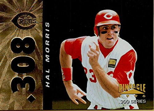 - Baseball MLB 1996 Pinnacle Foil #308 Hal Morris Reds