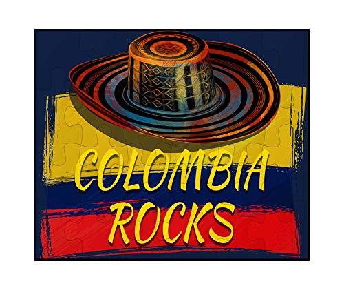 (Makoroni - Colombia Rocks Colombian Colombia - Jigsaw Puzzle, 30 pcs. )