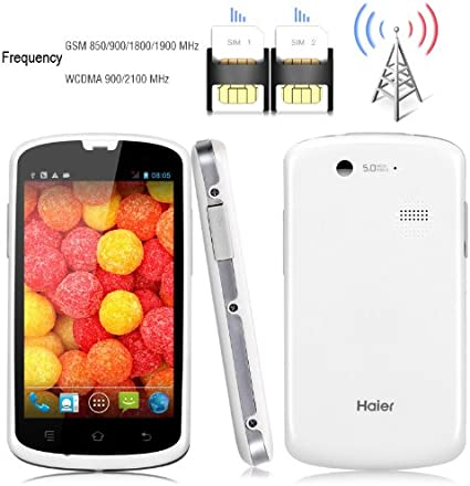Haier W718 4 Smartphone Android Dual Core Dual SIM teléfono móvil Impermeable Dustproof: Amazon.es: Electrónica