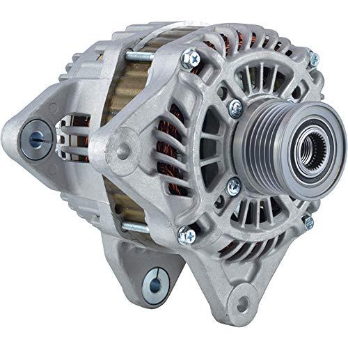 Internal Regulator - DB Electrical New 400-48213 Alternator for 110Amp Internal Fan Type Clutch Pulley Type Internal Regulator CW Rotation 12V 1.6L L4 Nissan Juke 2011 2012 2013 23100-1KM1A, 23100-1KM1M, 23100-3YM1A