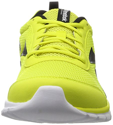 Reebok Sublite Sport, Zapatillas de Running para Hombre Amarillo (Hero Yellow / Black / White)