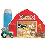 img - for What's in the Big Red Barn? Floor Puzzle book / textbook / text book