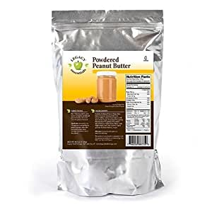 Legacy Essentials Powdered Peanut Butter - Long Storage Shelf Life - Non-GMO Food - Healthy Protein Peanutbutter Powder Mix (Quantity 1)