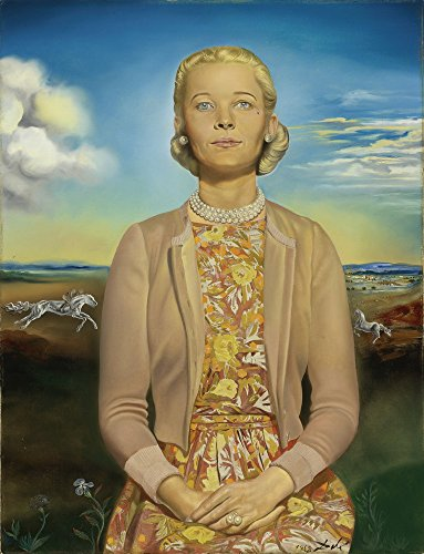 Berkin Arts Salvador Dali Giclee Canvas Print Paintings Poster Reproduction (Portrait of Madame Winston) ()
