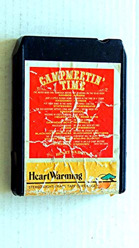 Various Artists Campmeetin' Time - HeartWarming Records 1980 - A Used 8 Track Album - Very Rare - 20 Songs - The Oak Ridge Boys - The Blackwood Brothers - Stamps Quartet - Kingsmen - More