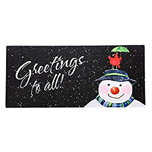Amazon Com Snow In The Forecast Sassafras Switch Mat