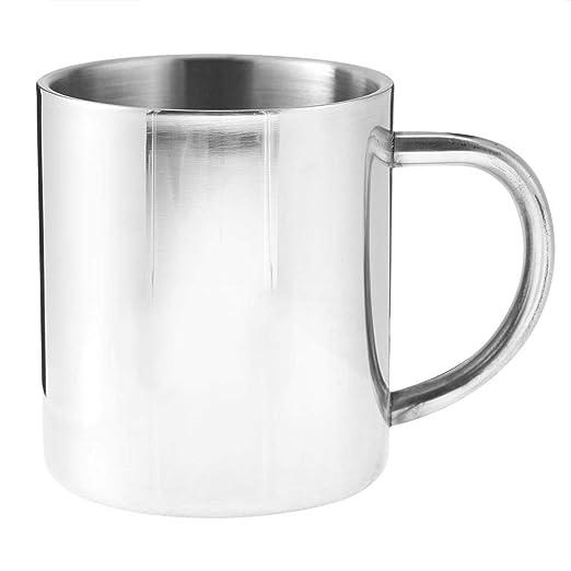 Acouto Taza del Acero Inoxidable, Taza de café de la Leche ...