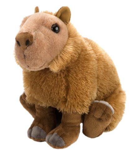 Wild Republic Capybara Plush, Stuffed Animal, Plush Toy, Gifts for Kids, Cuddlekins 12 Inches ()