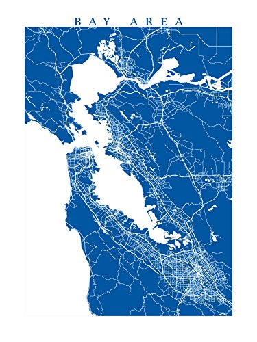 Amazon.com: San Francisco Bay Area Map Print: Handmade on sfo bay map, central valley map, mojave desert map, hudson bay map, chicago map, delaware bay map, san pablo bay map, puget sound map, lake erie map, california map, chesapeake bay map, great basin map, st. helena bay map, sierra nevada map, monterey bay map, festival of sail map, lake michigan map, death valley map, angel island map, rocky mountains map,