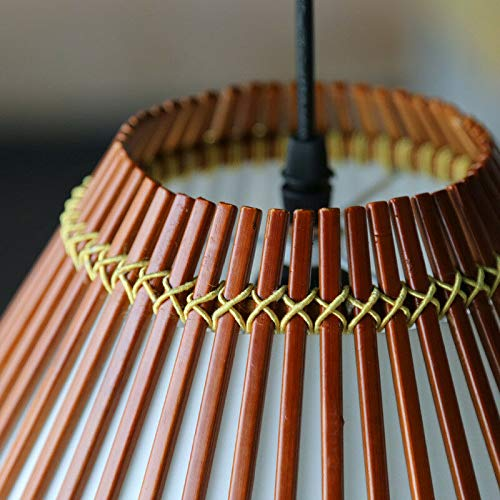 FidgetGear American Country Pastoral Style Bamboo Pendant Lamp Chandelier Hanging Light 190 by FidgetGear (Image #6)