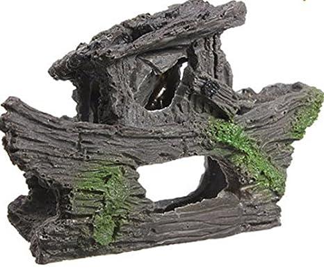 Shopidea - Decoración para acuario, pecera, acuario, pecera, náutica, náutica, cueva de hípica: Amazon.es: Productos para mascotas