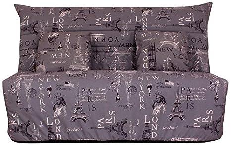 Relaxima 123bnati Luxor Banquette-Lit acordeón colchón Espuma pillotech by Dunlopillo Naciones 150 x 102 x 88 cm: Amazon.es: Hogar