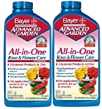 Bayer Advanced All in One Rose & Flower Care 9-14-9 32 oz (2-Pack 32Oz)