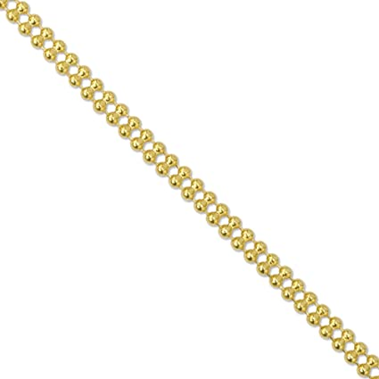 ad0ad46ebc8ad Amazon.com: Artistic Wire Beadalon Chain Double Ball 1-1/2mm Gold ...