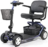 Golden Technologies - LiteRider - Lightweight Travel Scooter - 4-Wheel - Blue