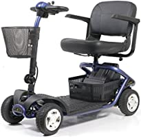 Golden Technologies - LiteRider - Lightweight Travel Scooter - 4-Wheel - Blue