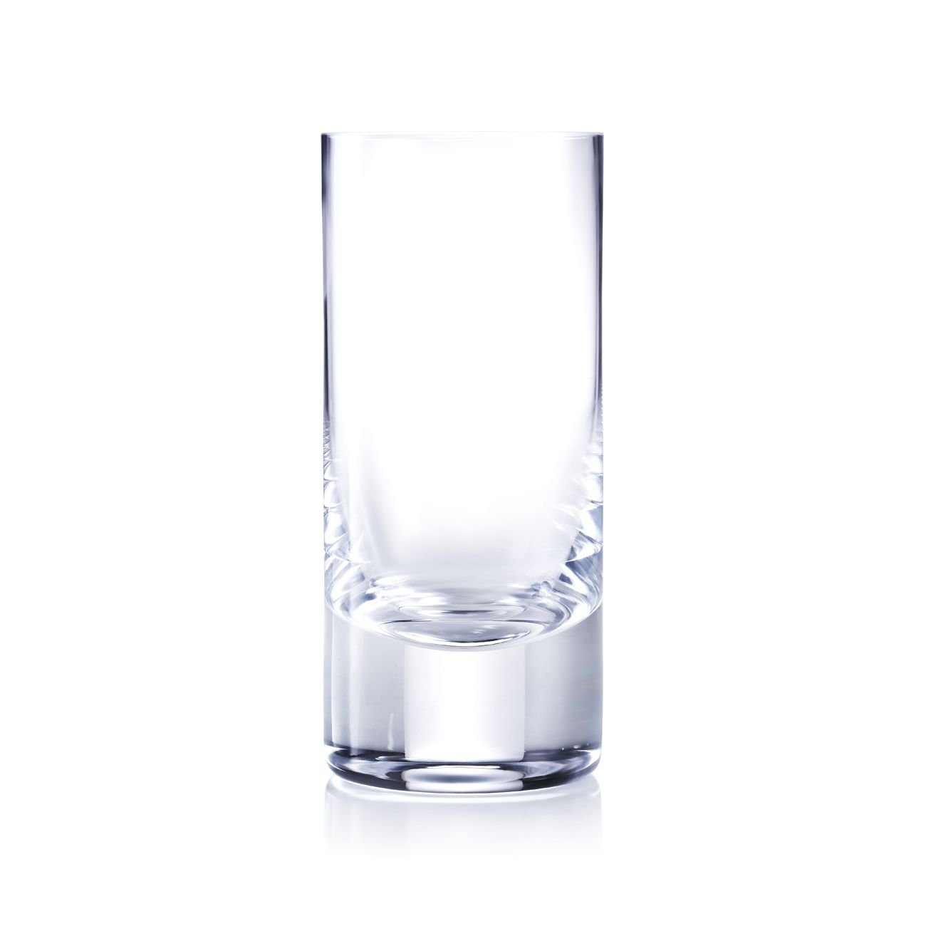 Moser Whisky- Plain Cut Highball, Clear