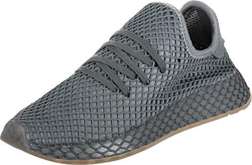 adidas Unisex Kids' 8 Gymnastics Shoes, Red Grey Four/White