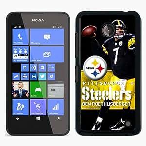 PAN Personalized Design pittsburgh steelers ben roethlisberger Black Nokia Lumia 630 Case