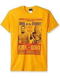 Trevco mens Star Trek Duel in the Desert T-shirt