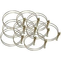 Steelex Wire Hose Clamp, 2-1/2-Inch, 10-Pack by Steelex