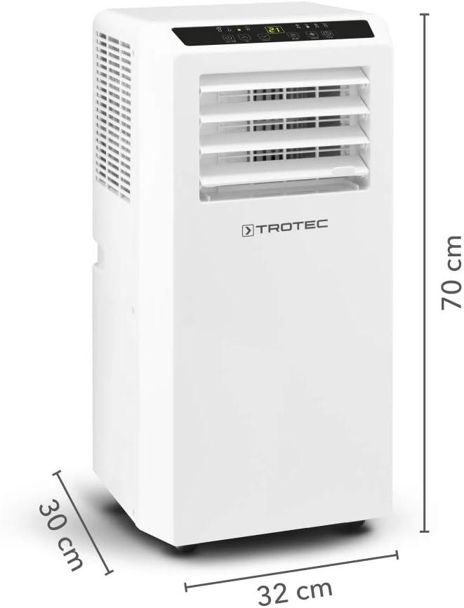 TROTEC Aire Acondicionado Portátil PAC 2010 SH / 4 en 1 ...
