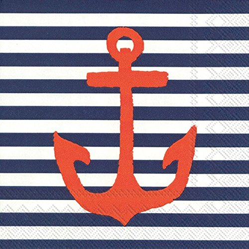 boston-international-20-count-3-ply-paper-cocktail-napkins-blue-yacht-club-anchor