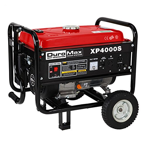 DuroMax XP4000S-CA 4000W Air Cooled OHV Gasoline power transportable RV CARB Approved Generator Reviews