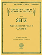 Pupil's Concertos, Complete: Schirmer Library of Classics Volume 2054 Violin and Piano