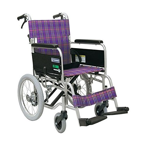 カワムラサイクル 車いすKA402SB-40 (A11:紫) 【非課税】 B07D1M16R9