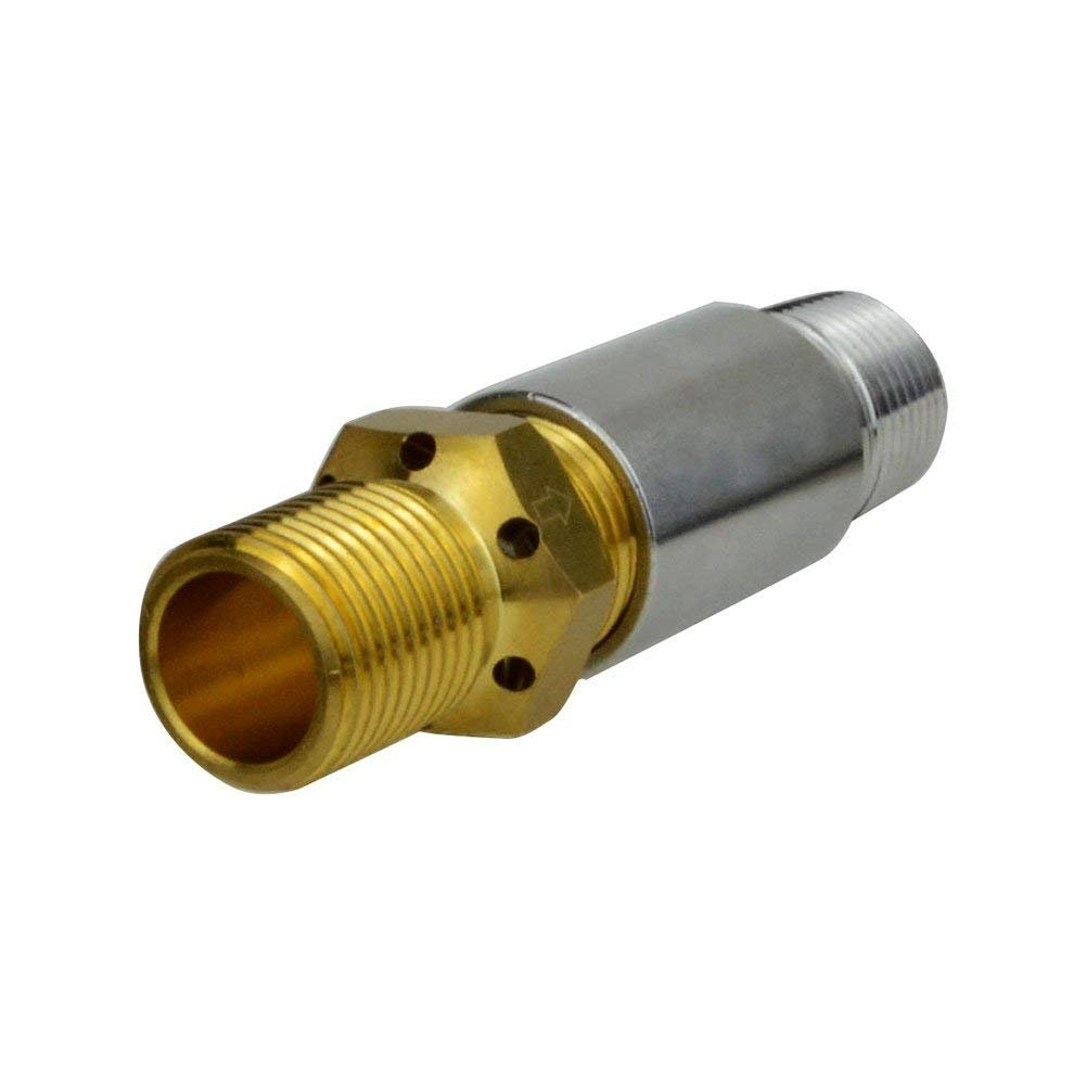 Stanbroil Liquid Propane Fire Pits 1/2'' Air Mixer Valve - High Capacity 90K BTU Stainless Steel