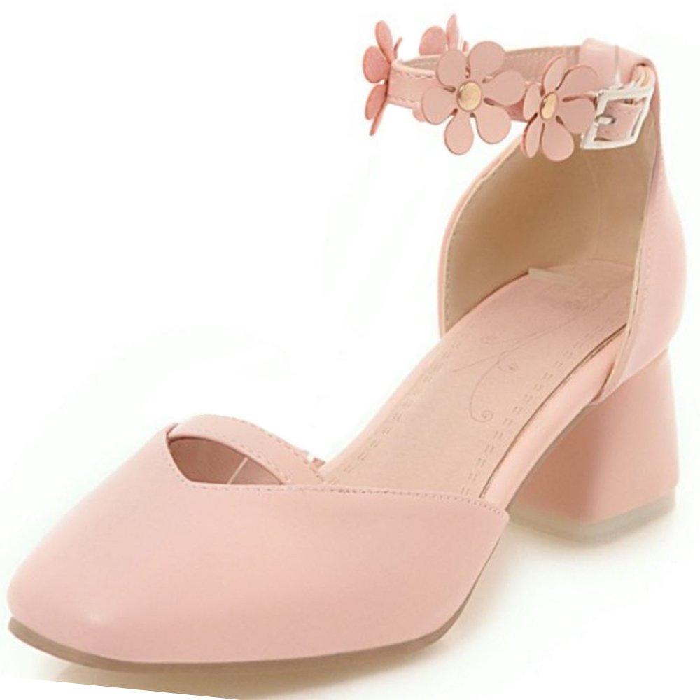 Zanpa Sandales Femmes Doux Sandales Doux with Femmes Fleur 1#pink 6401a0e - shopssong.space