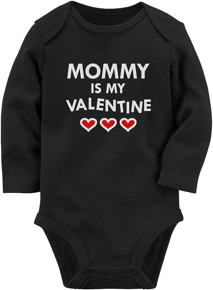 Mommy Is My 1st Valentine  Mommy/'s Boy  Valentine Baby ONESIE\u00ae  Valentine/'s Day Baby Bodysuit  Baby Gift