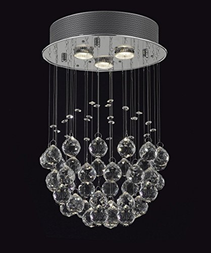 Raindrop Crystal Fixture - 9