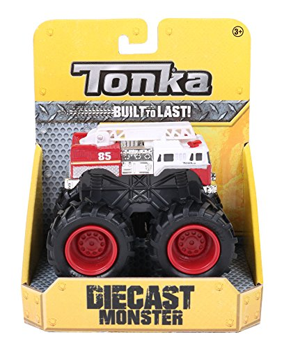 Tonka 06445 Die Cast Monsters Extreme Extinguisher (Large Tonka Fire Truck)