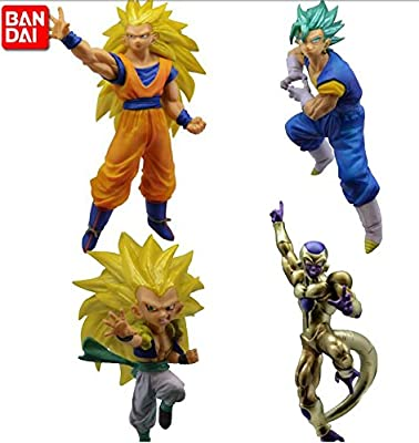 Bandai Battle Figure Series Dragon ball Super VS Versus Dragon ball 06 Set of 4